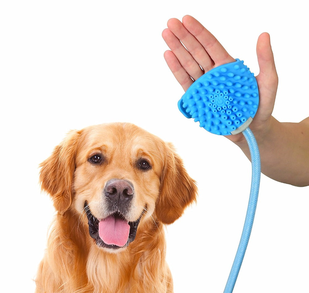 Pet Shower Sprayer and Scrubber
