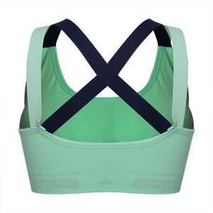 Woman's Back Cross Sports Bra
