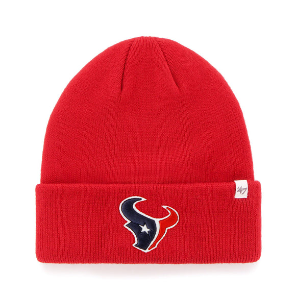 TUQUE RAISED CUFF NFL                    TEXANS