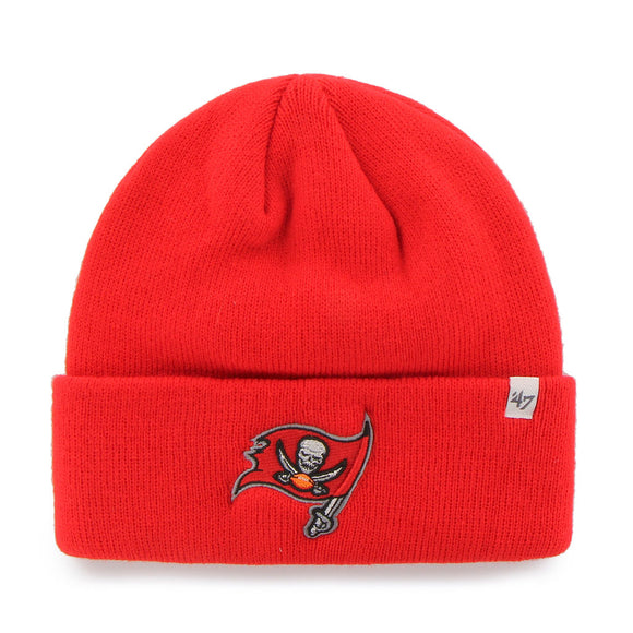 TUQUE RAISED CUFF NFL                    BUCCANEERS