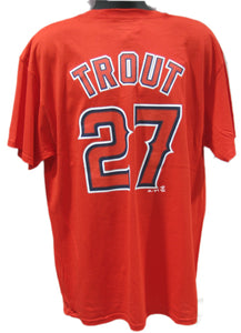 T-SHIRT NAME AND NUMBER                  M. TROUT