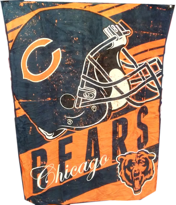 DÉCORATION COUVERTURE POLAR NFL          BEARS