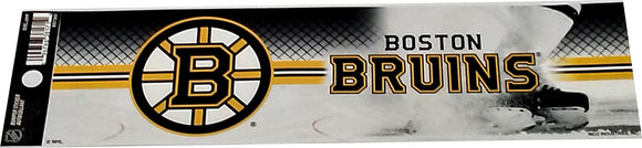DECORATION BUMPER STICKER  BRUINS
