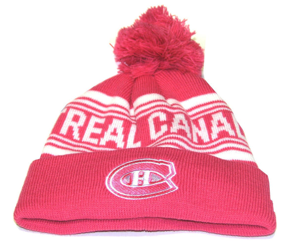 TUQUE TONAL ROSE ENFANT       CANADIENS
