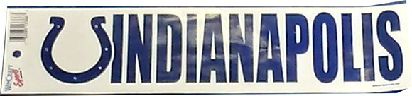 DÉCORATION BUMPER STICKER COLTS