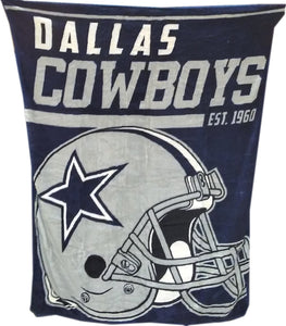 DÉCORATION COUVERTURE POLAR NFL          COWBOYS