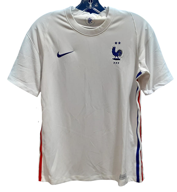 JERSEY SOCCER FRANCE JUNIOR AWAY 20