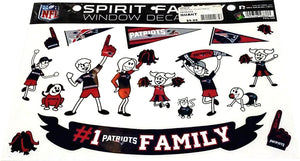 DECORATION COLLANT FAMILLE  PATRIOTS