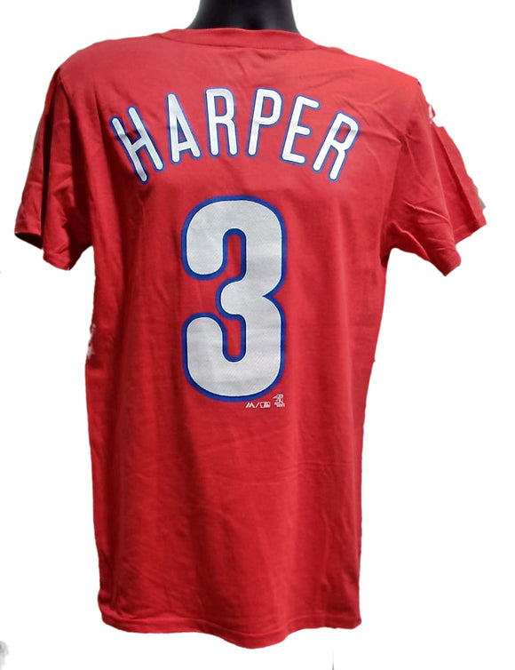 T-SHIRT NAME AND NUMBER     B. Harper PHILLIES