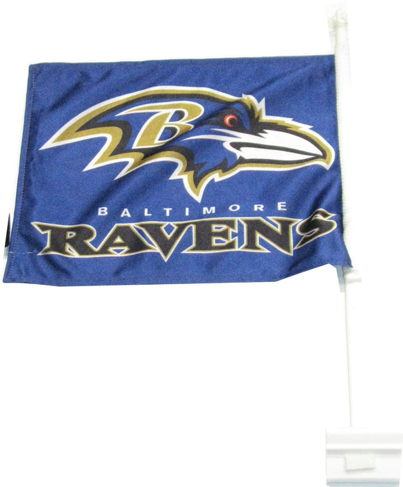 DÉCORATION CAR FLAG                      RAVENS