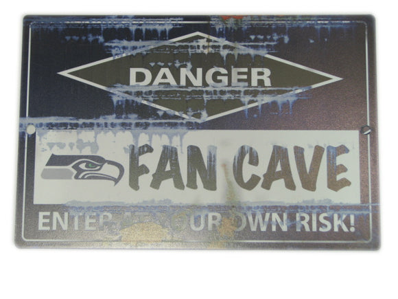DÉCORATION FAN CAVE SEAHAWKS