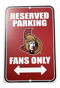 DÉCORATION PARKING SIGN                  SENATORS