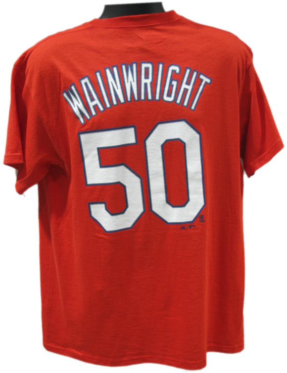 T-SHIRT NAME AND NUMBER                  Wainwright