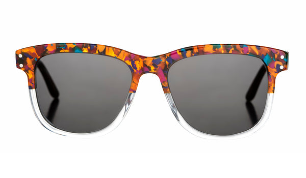 Limited edition sunglasses Hyde's N°2 - Confetti & Crystal - Hyde's Spectacles