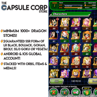 1000+ Dragon Stones with 2 LRs (Global Account)