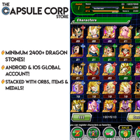 2400+ Dragon Stones (Global Account)