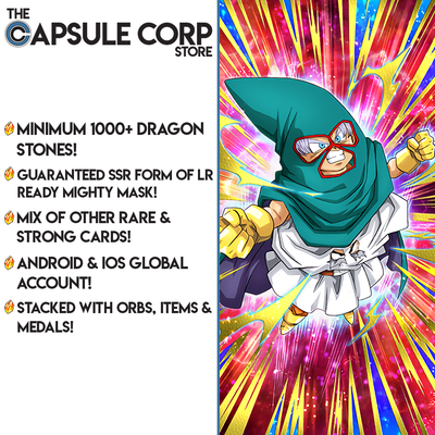 LR Mighty Mask Account with 1000+ Dragon Stones (Global Account)