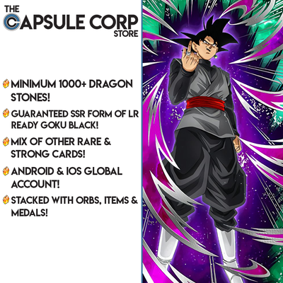 LR Black Account with 1000+ Dragon Stones (Global Account)