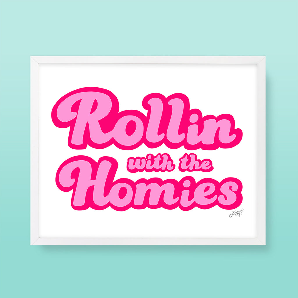 Rollin With the Homies - Art Print