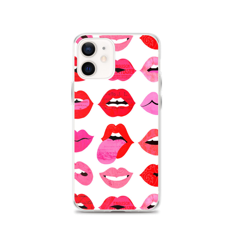 Lips of Love - iPhone Case
