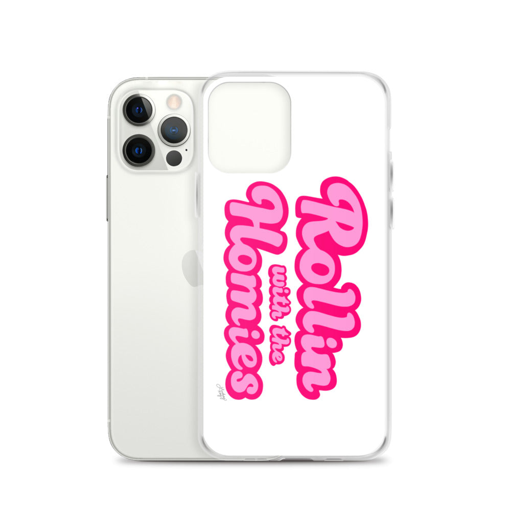 Rollin With the Homies - iPhone Case