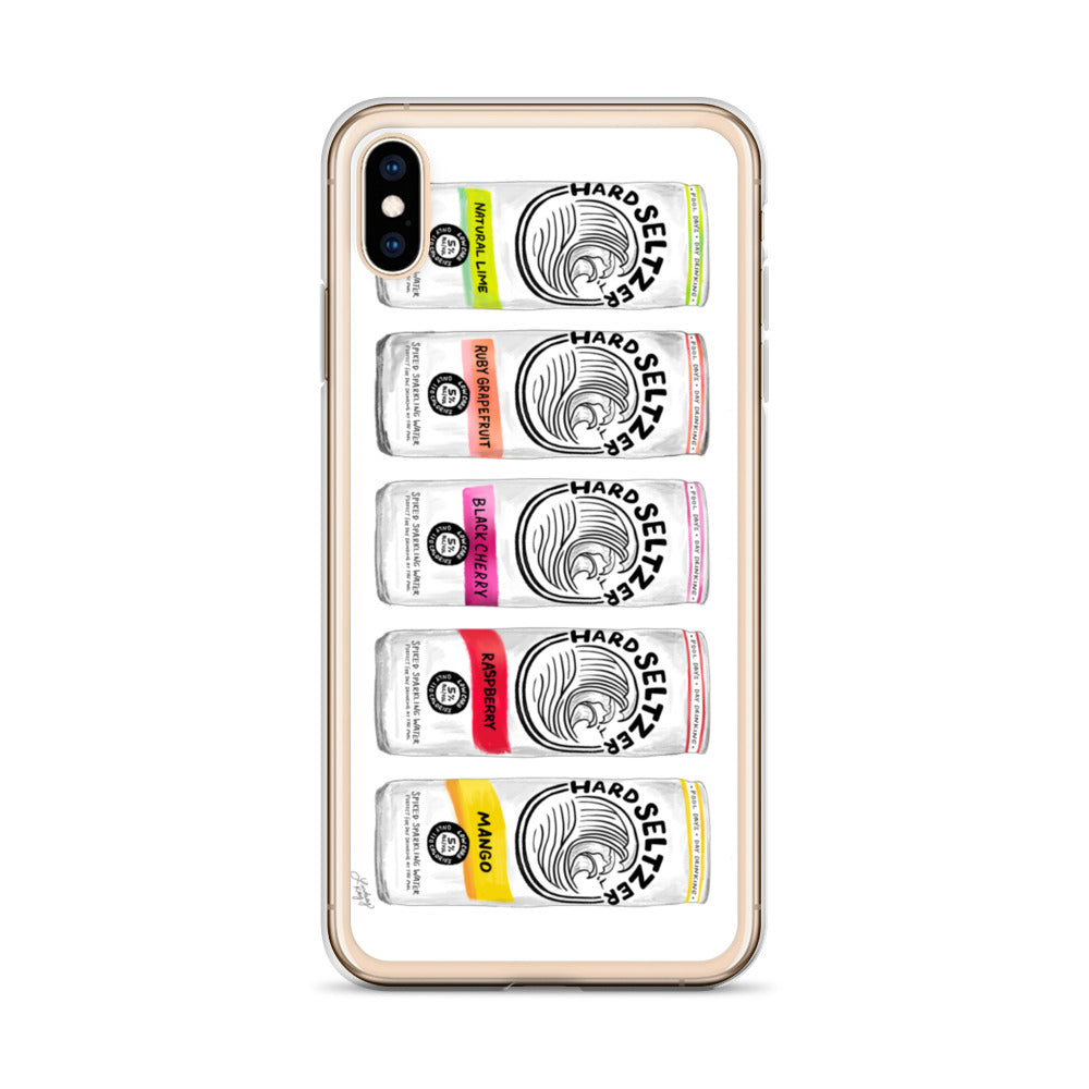 White Claw Illustration - iPhone Case