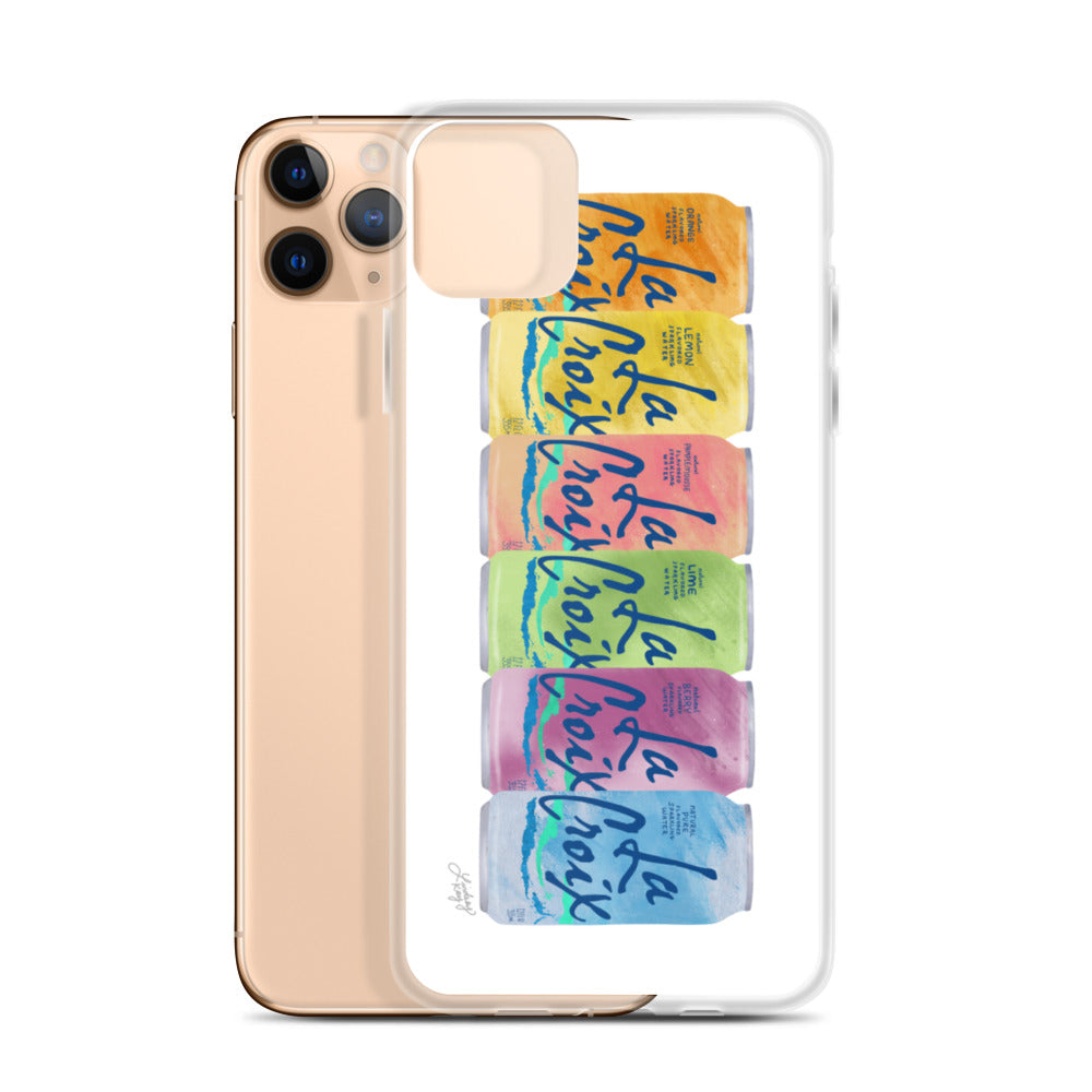 La Croix Illustration - iPhone Case