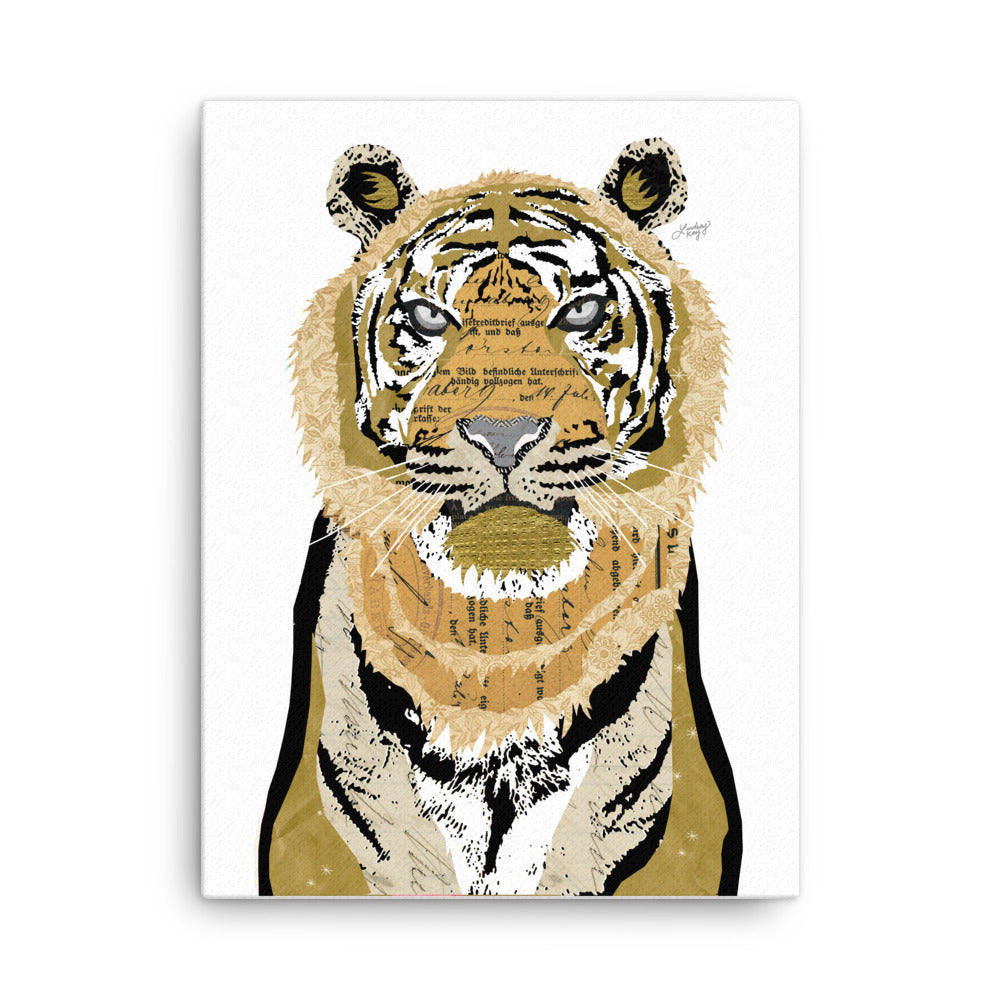 Tiger Collage - Canvas