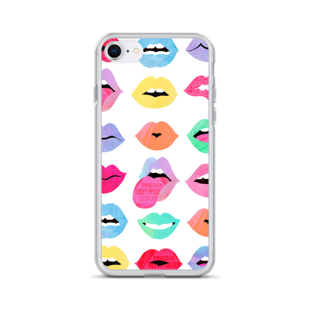 Rainbow Lips of Love - iPhone Case