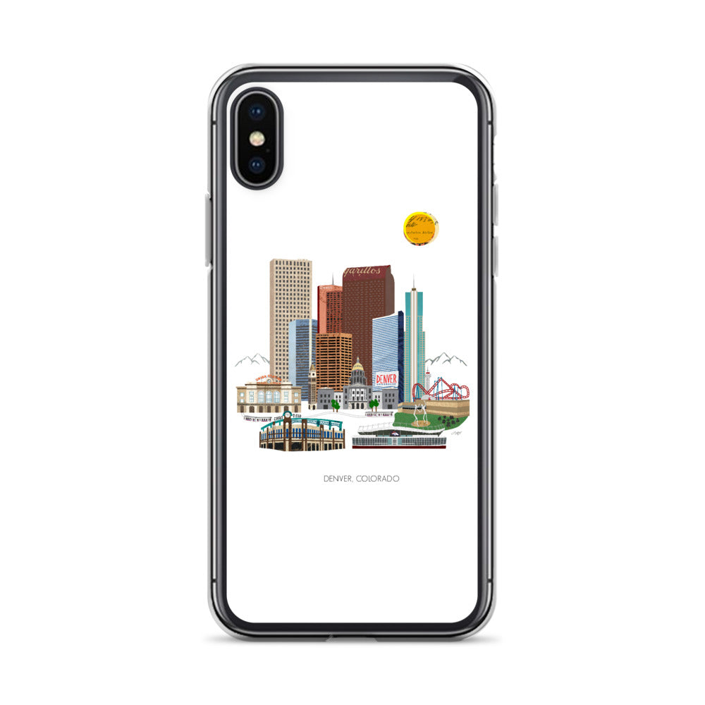 Denver Illustration - iPhone Case