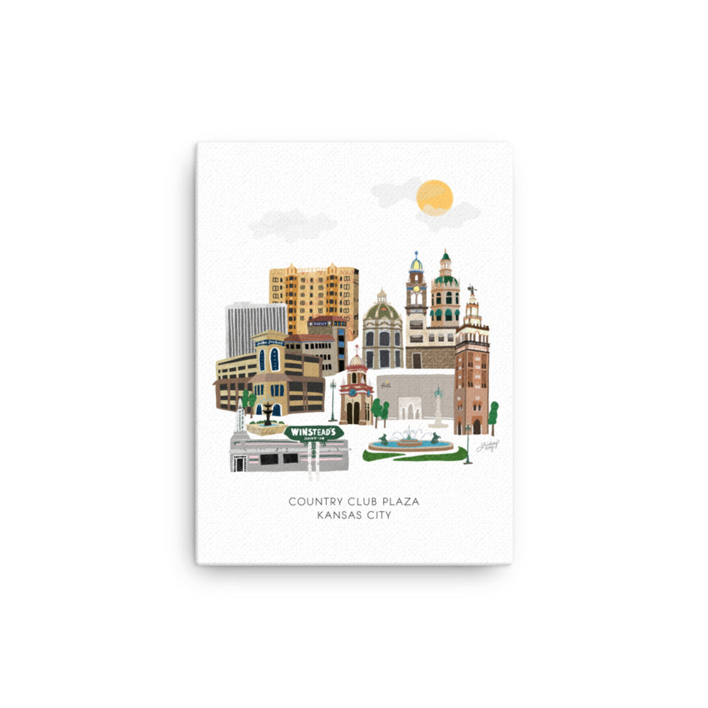 Kansas City Plaza - Canvas