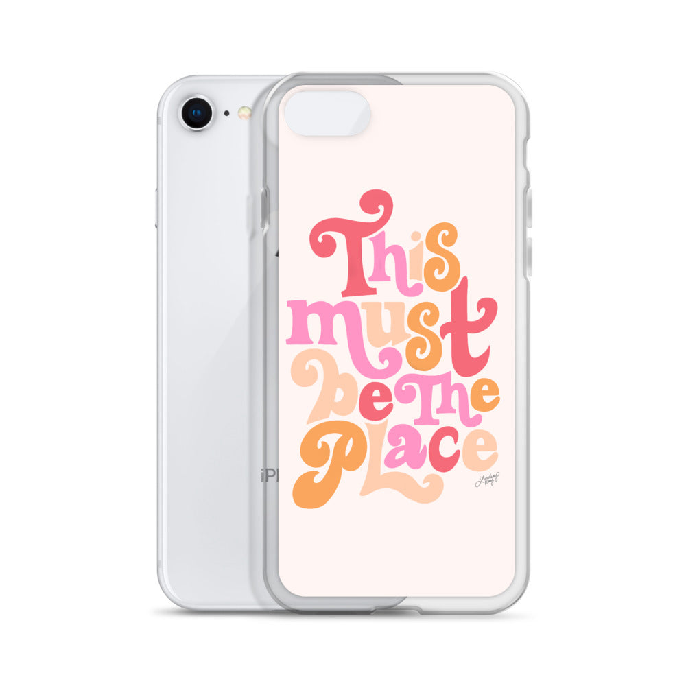 This Must Be the Place - iPhone Case