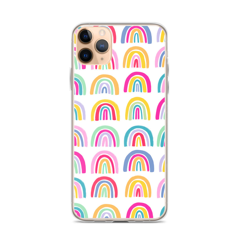Colorful Rainbows - iPhone Case
