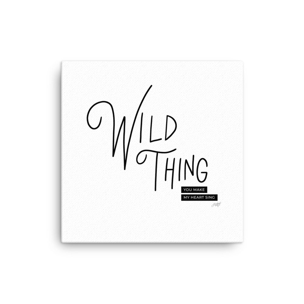Wild Thing - Canvas