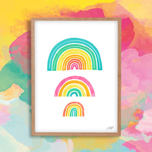 Rainbows - Art Print