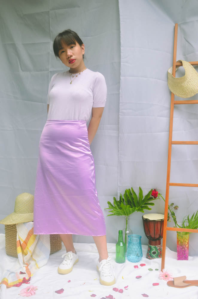 Laney Skirt - Lavander