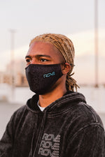 ROVE // FACE MASK // PATTERN BLACK