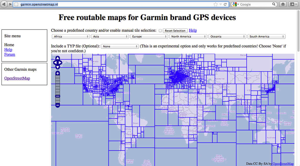 Geostuff com au — Free open source maps for your Garmin GPS