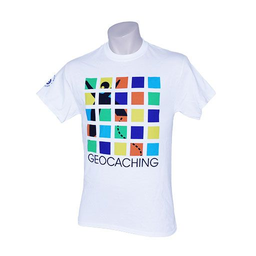 Original Geocaching T-Shirt- 20th Anniversary Edition