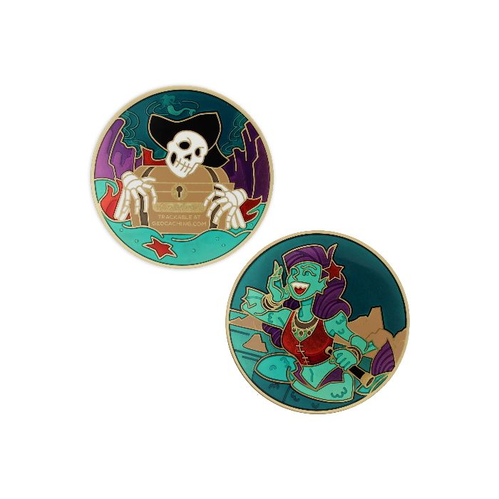 2020 Pirate Geocoin- Siren Song