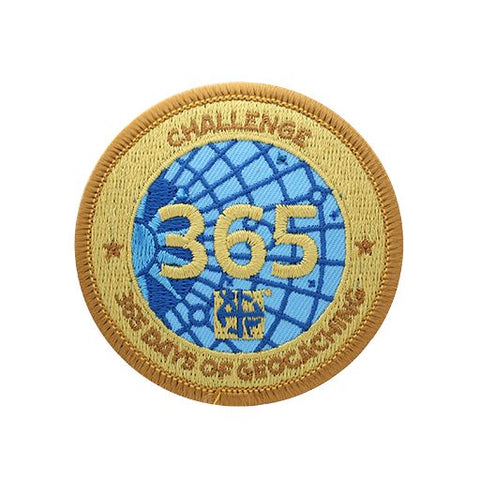 Challenges Patch - 365 Days of Geocaching