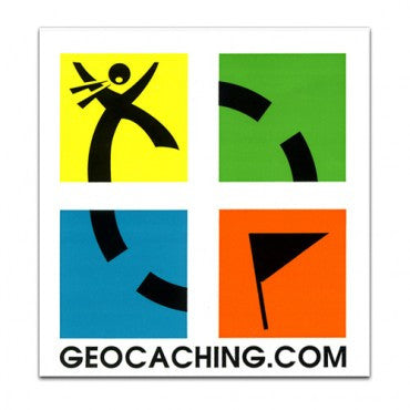 [BARGAIN] Large Geocaching Logo Sticker