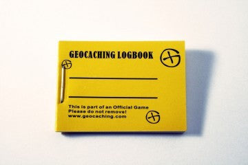 Micro Geocaching Logbook - 100 pages, 200 logs