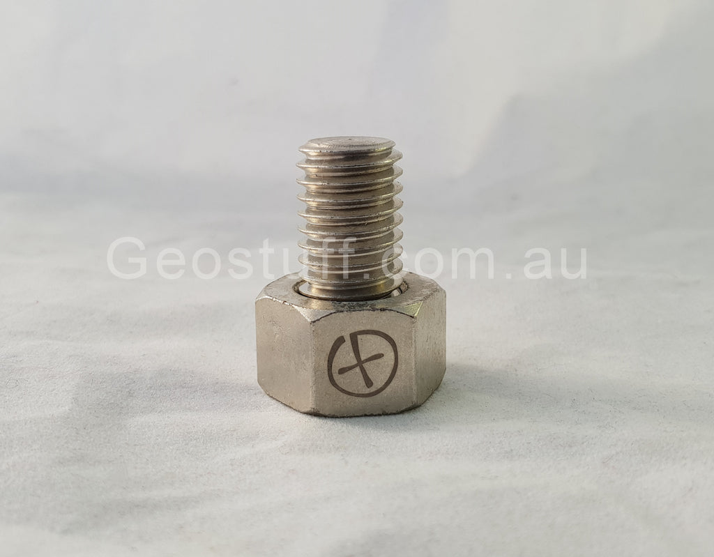 Magnetic Bolt Geocache Container
