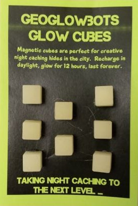 GeoGlowbot Cubes Magnetic