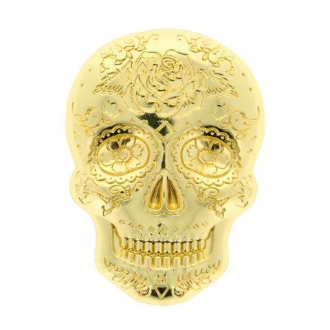 Day Of The Dead Skull Geocoin