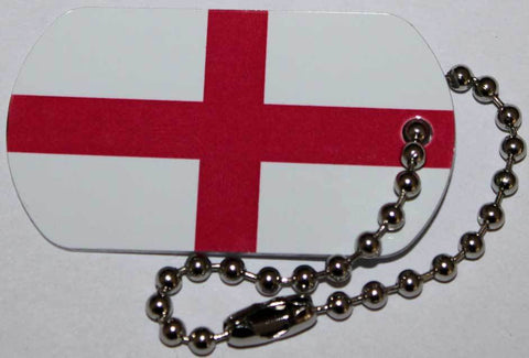 English Flag Travel Tag