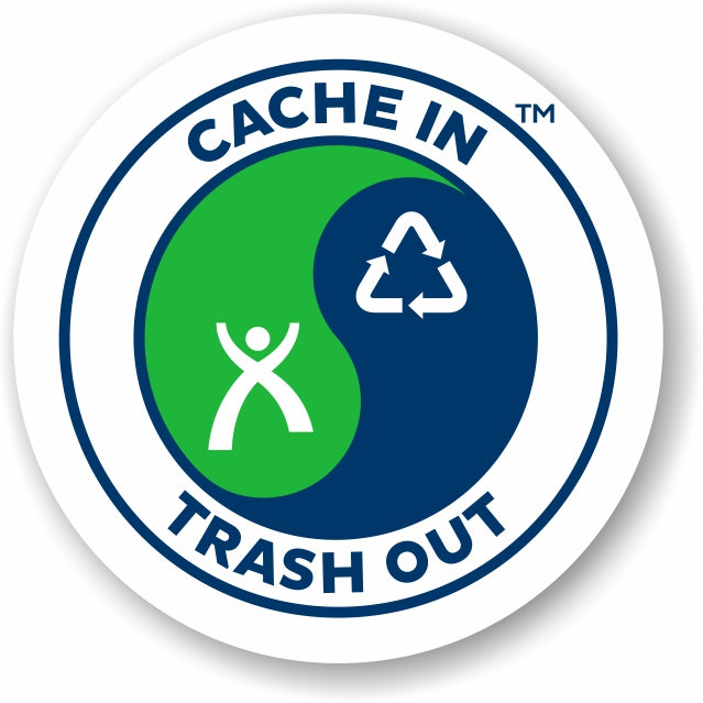 Sticker vinyl Geocaching Logo CITO