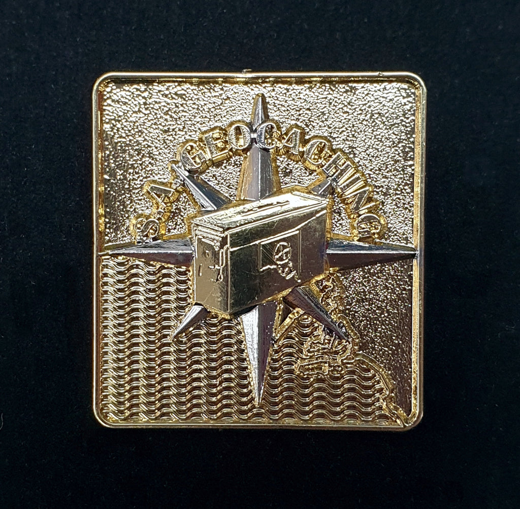 SA Geocaching Pin