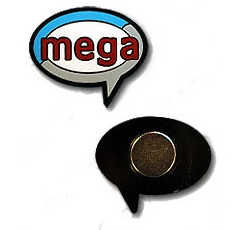 Mega Event mini magnet